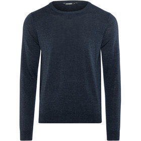 Bergans Fivel Wool Long Sleeve Men Dark Blue Mel